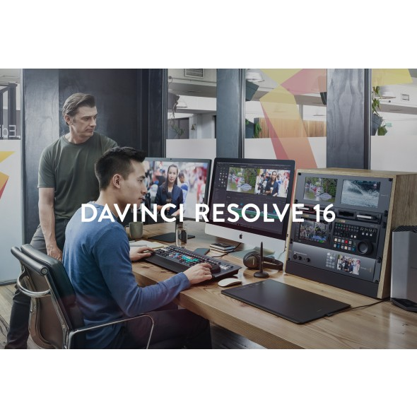 DAVINCI RESOLVE 16 STUDIO DV/RESSTUD/DONGLE